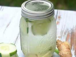 Kış aylarında alınan fazla kilolardan kurtulmak için salatalık çayı